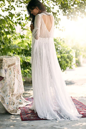 Vishnu Bohemian Lace Dress - Island Tribe