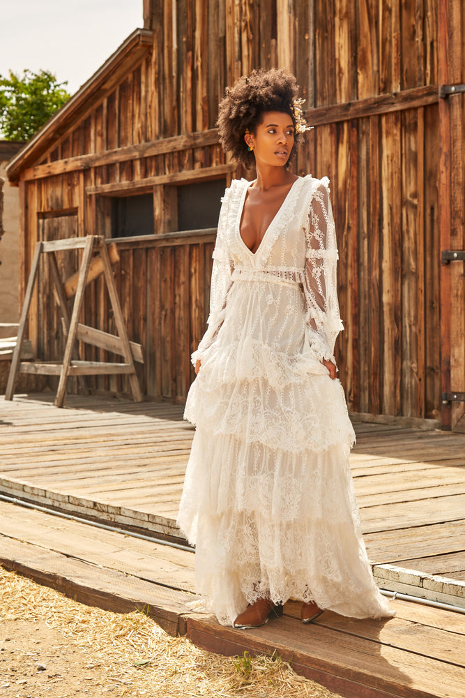 Martinique Lace Dress - Island Tribe