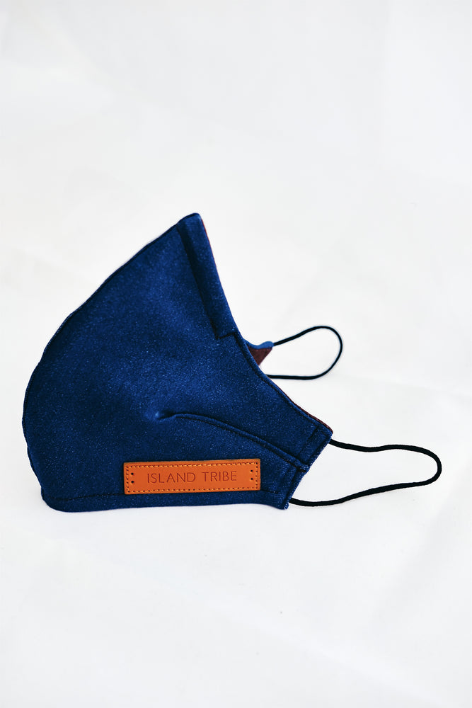 Coco Denim Mask - Island Tribe