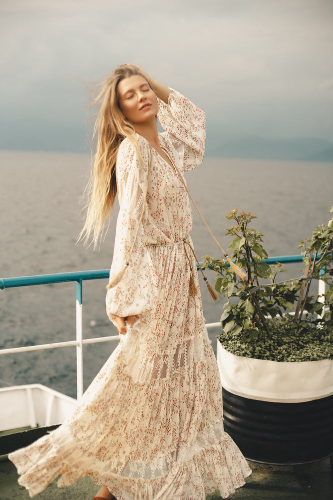 Manda Bohemian Maxi Dress - Island Tribe