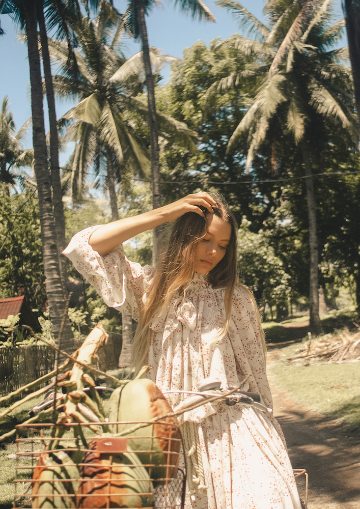 Rémire Bohemian Mini Dress - Island Tribe