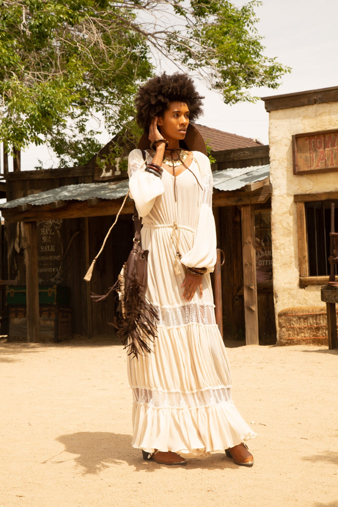 Pemba Bohemian Maxi Dress - Island Tribe