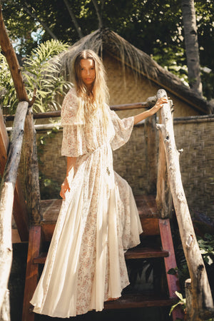 Zanzibar Bohemian Maxi Dress - Island Tribe