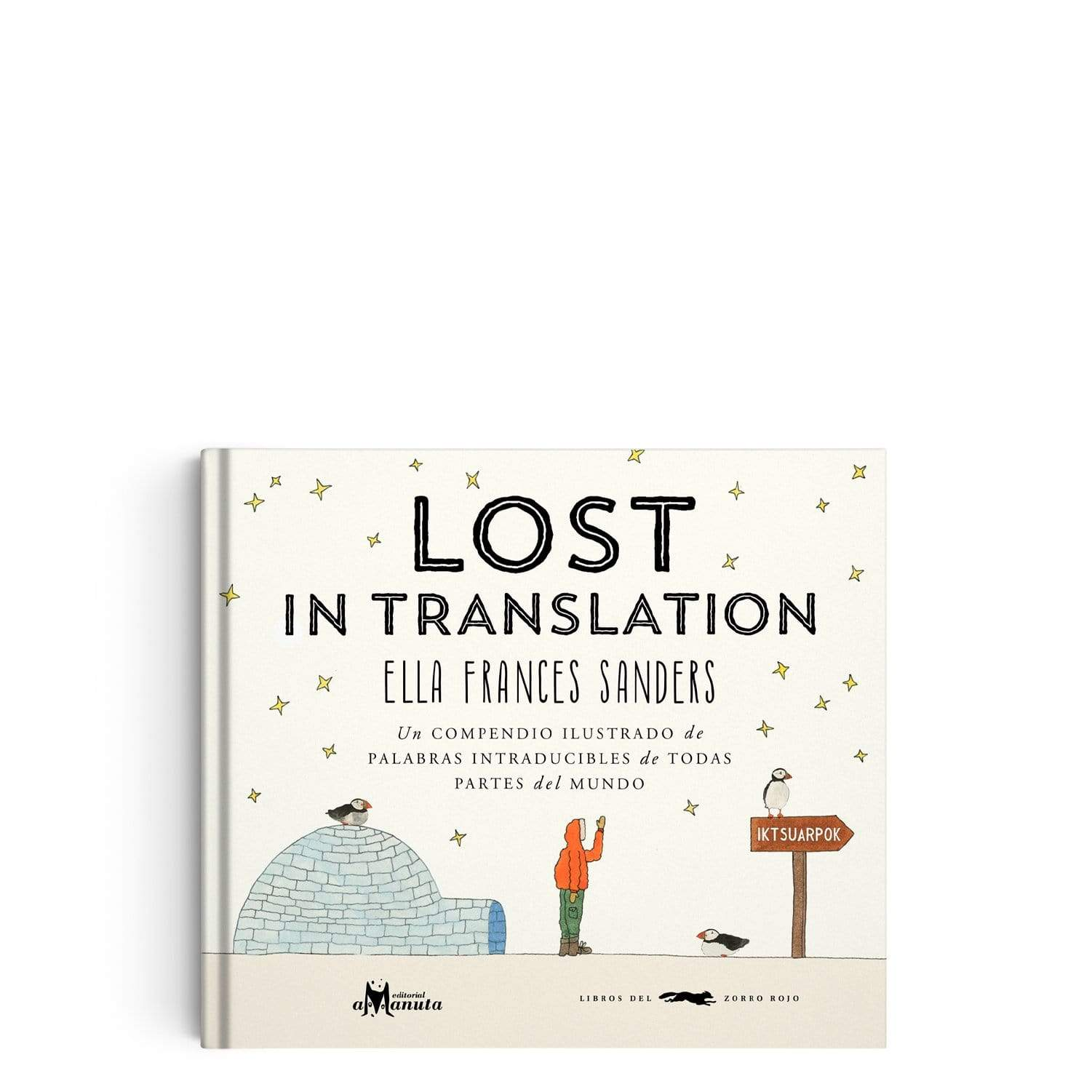 "Libro ""Lost in translation"""