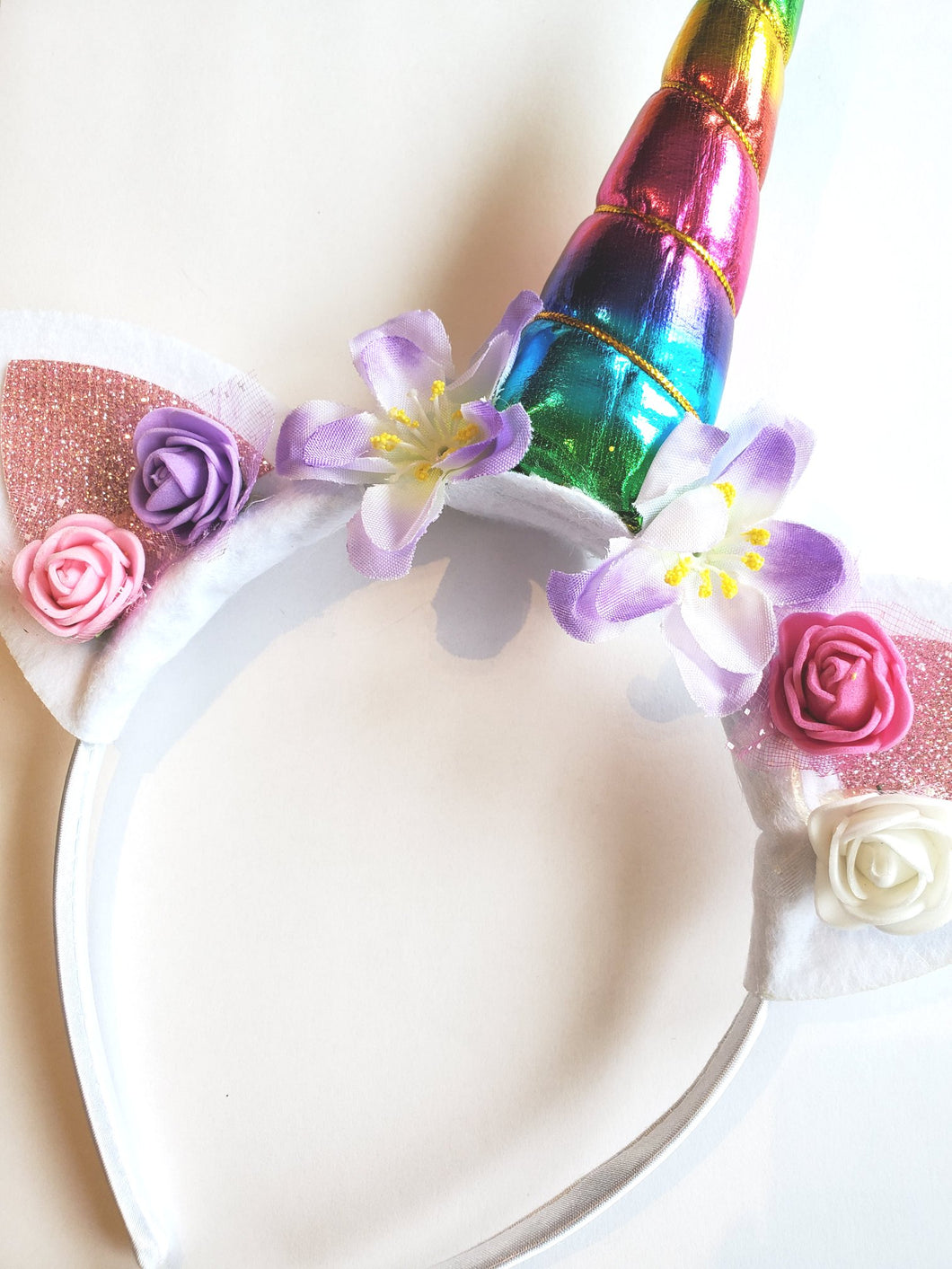 Unicorn Headband Rainbow