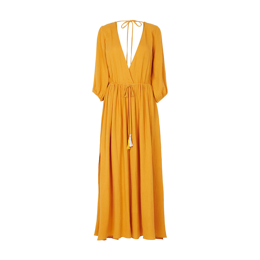 australian designers bird & knoll luxury maxi dress