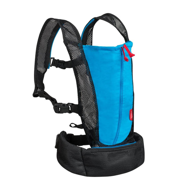 phil&teds lightweight baby carrier in aqua 3qtr view_aqua