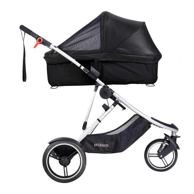phil&teds dash snug carrycot mesh cover side view_default
