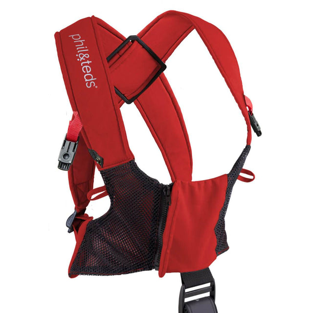 phil&teds emotion baby carrier harness_scarlet