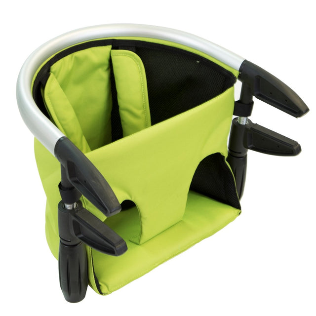phil&teds lobster high chair in apple colour 3/4 view_apple