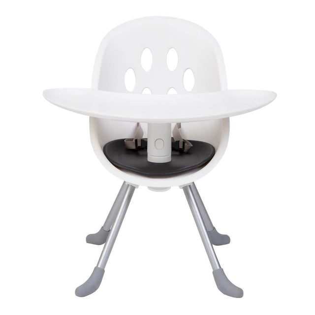 phil&teds award winning poppy high chair in my chair toddler seat mode with attached food tray_black seat liner