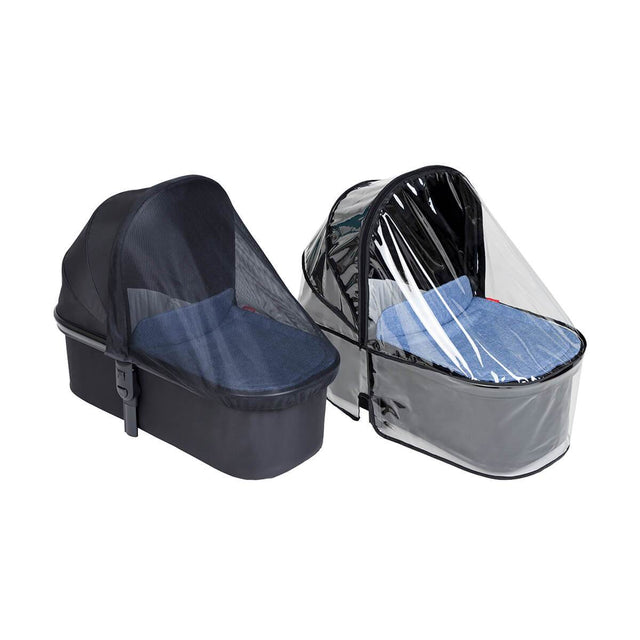 phil&teds snug carrycot all weather cover set 3/4 view_default