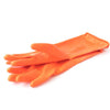 674 - Heavy Reusable Rubber Hand Gloves (Orange) - 1pc
