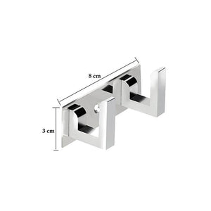 472_2 Pin  Cloth Hanger Bathroom Wall Door Hooks For Hanging keys,Clothes Holder Hook Rail  (Pack of 3)