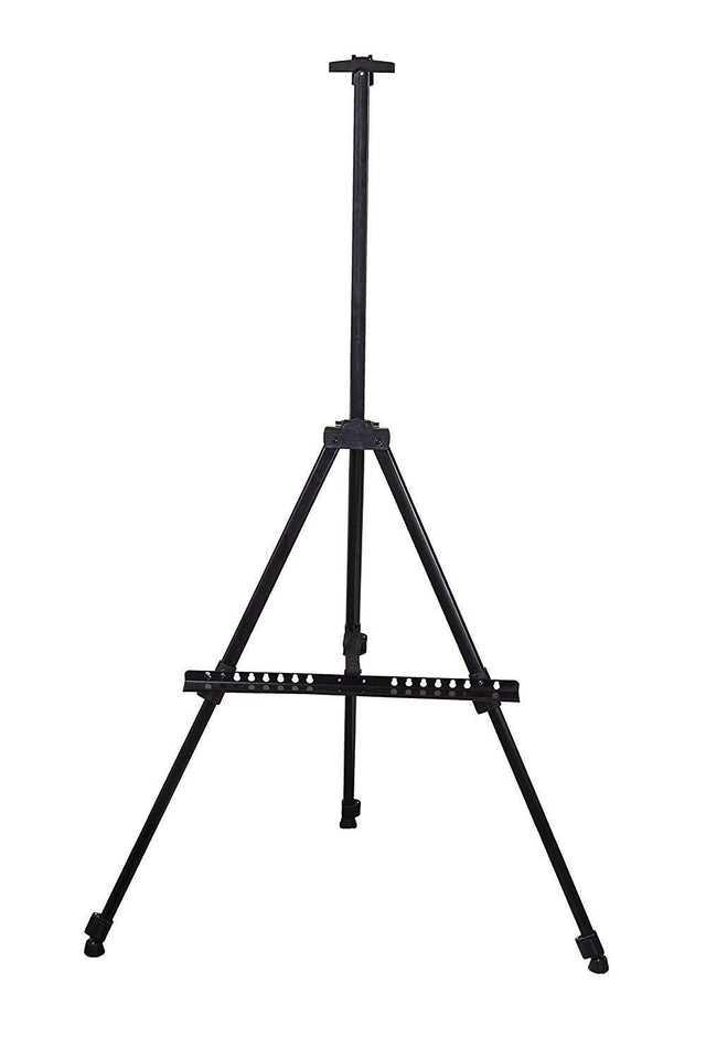 328_ Artists' Portable Lightweight Metal Display Easel  with Free Weatherproof Carry Bag