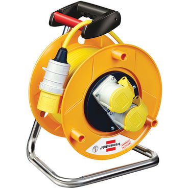 Brennenstuhl 110V 16A 2-socket 50m cable reel