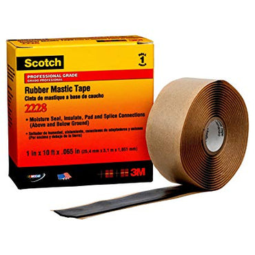 3M 2228 Moisture sealing electrical tape (25,4mm x 3,02m x 1,65mm)