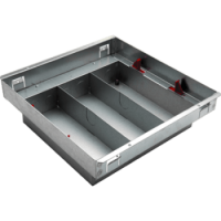 MK Underfloor Service Outlet Basic Box Without Lid (250x250x60mm)
