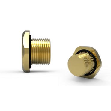 Hawke 390 Hexagon Head Stopping Plug Brass