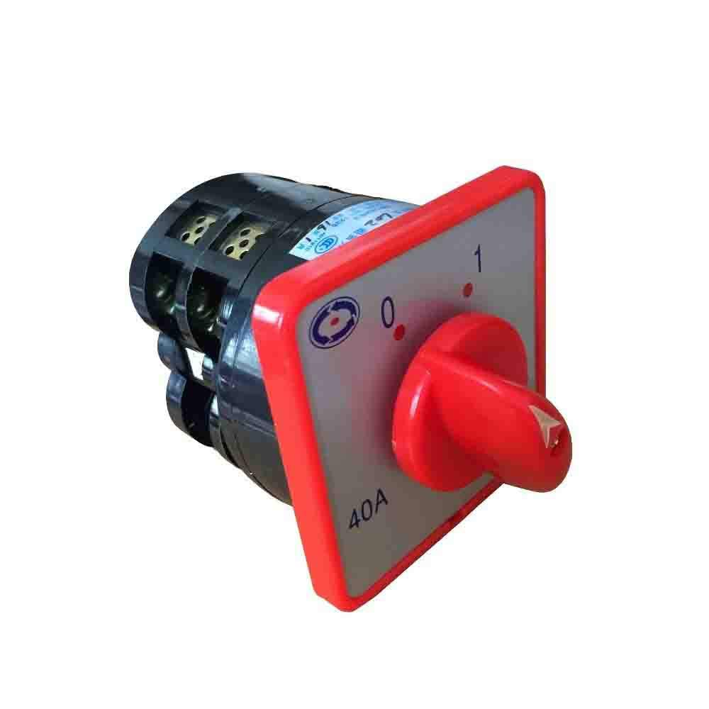 Andeli 2 pole, 3 position rotary cam switch