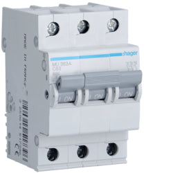 Hager MU 6kA C Circuit Breakers