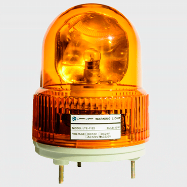 Camsco 12V DC Amber Revolving Warning Light