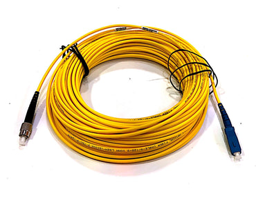Mainframe FC/UPC-SC/UPC SM 25 Meter Fiber Optic Patch Cable
