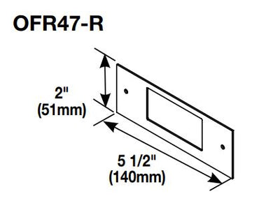 Legrand OFR Series Overfloor Raceway Decorator Device Plate
