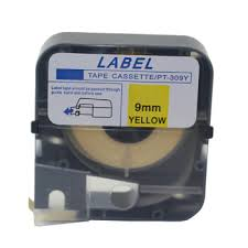 Letatwin Yellow Tape Cassette 8m/roll