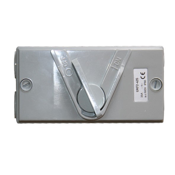 Relite Weather Protected Four Pole Surface Switch