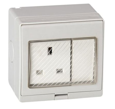 TURBO 13A IP55 Weatherproof Switch Socket 250V