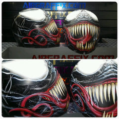 Venom 2015 Design Custom painted Helmet
