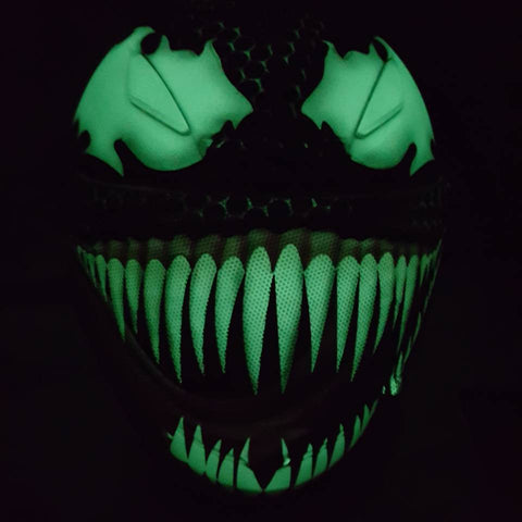 Venom 2017 Design Glows in the Dark! Custom Helmet