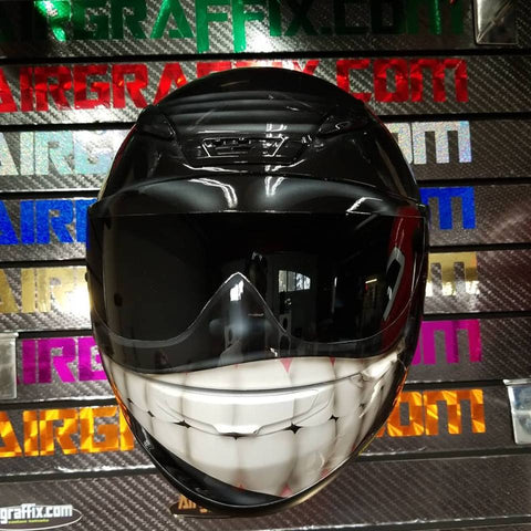 Black Smiling Face Helmet