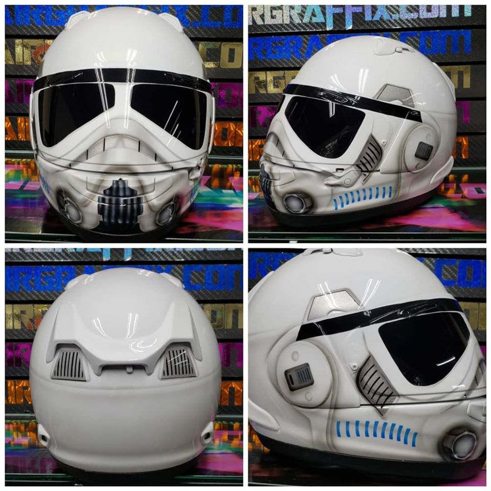 Copy of Stormtrooper on Client Supplied Arai