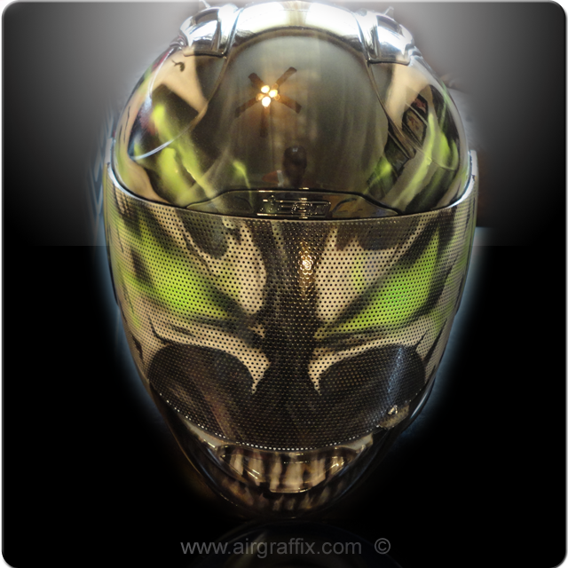 Spawn Custom painted Helmet