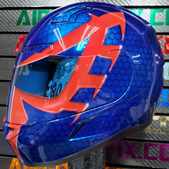 Spiderman 2099 Custom Painted Airbriushed Motorcycle Helmet