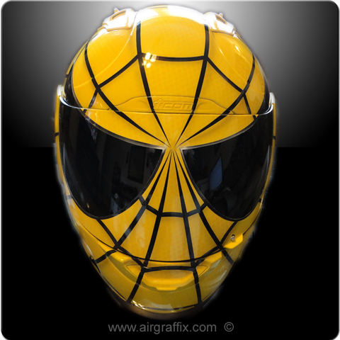 Yellow and Black Spiderman
