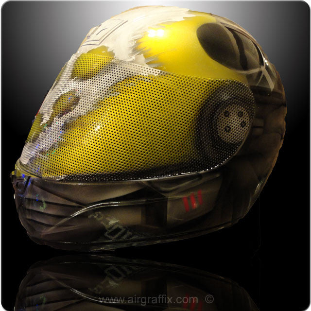 Halo Emile Metallic Yellow Www Airgraffix Com