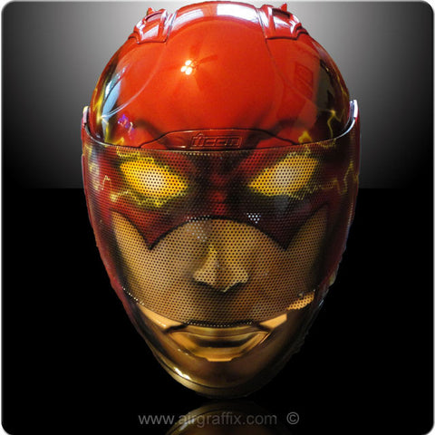 Flash Custom painted Helmet