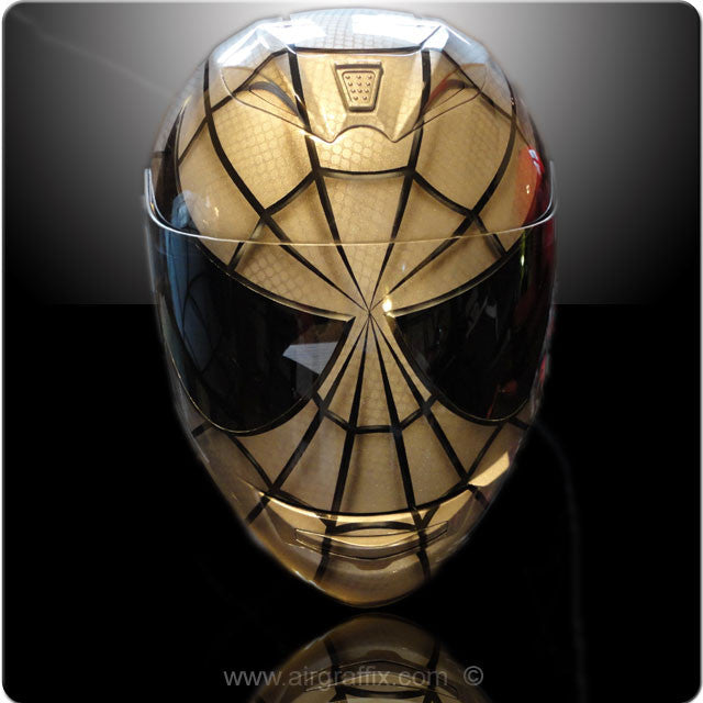 Silver Spiderman Helmet