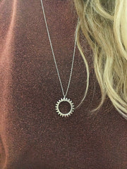 "Necklace ""Sunshine"" - Silver"