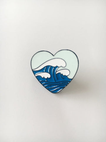 """Ocean Lover"" Brooch"