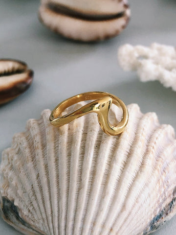 Bague « Ombak » - OR 🌊