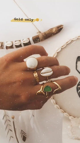 Bague « Bukit » - OR 🐚
