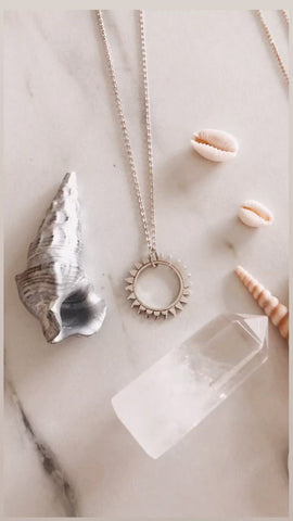 "Collier ""Sunshine"" - ARGENT 🌞"