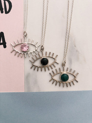 "Necklace ""Balinese Eye"""