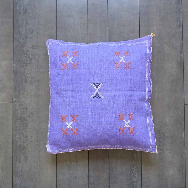 Coussin berbere violet