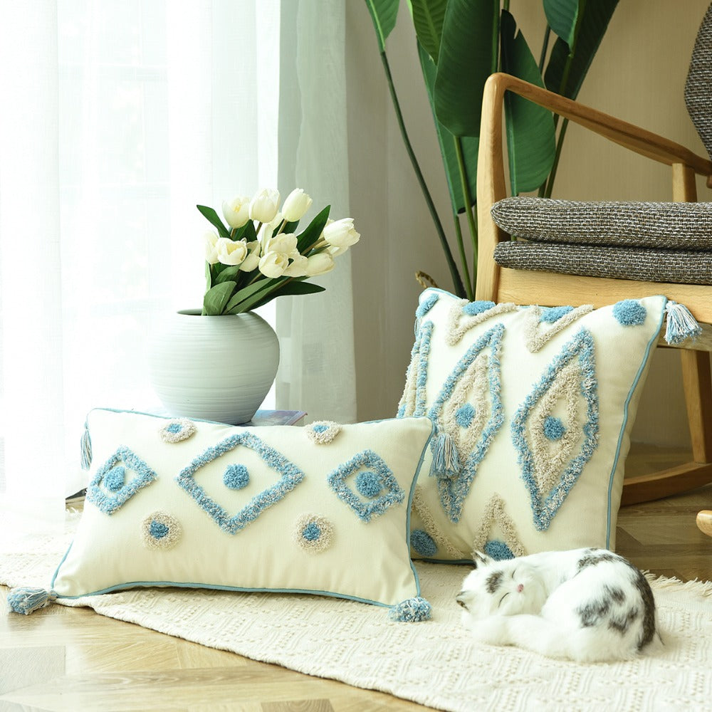 Coussins Scandinave Turquoise - MAZIR