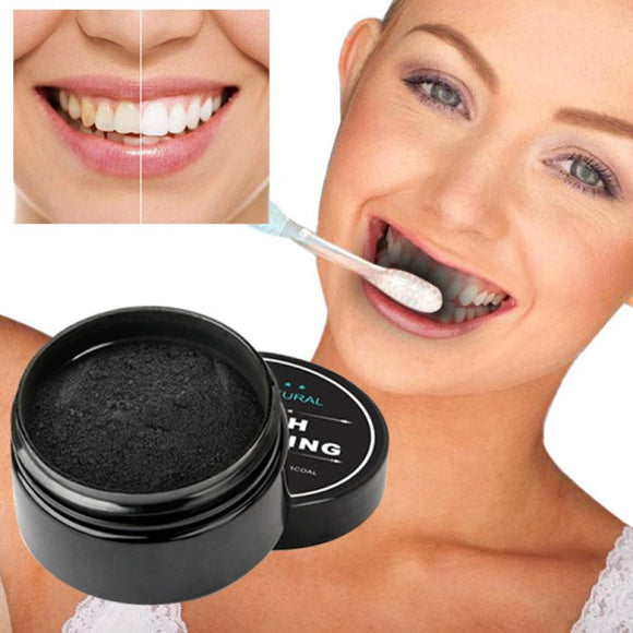 100% Natural Organic Activated Bamboo Charcoal Teeth Whitening Powder - New Arrival